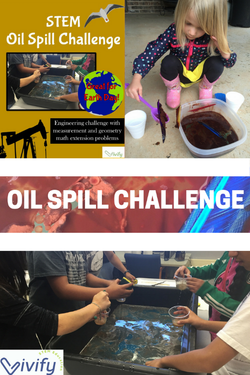 STEM Oil Spill Challenge on TeacherspayTeachers.com