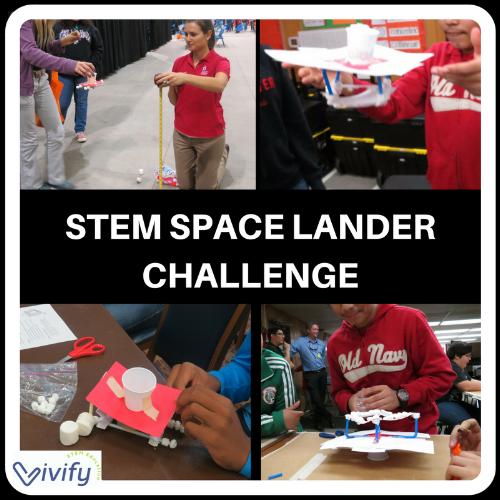 Our kids love the STEM Space Lander Challenge!