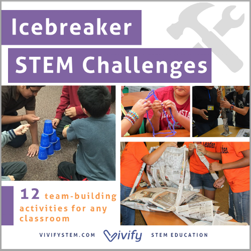 Growing bundle of STEM activities for icebreakers, warm-ups, or mini-challenges.