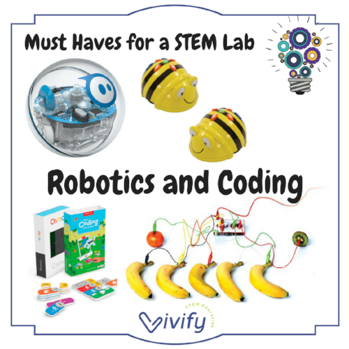 Our top pics for robotics and coding products for your STEM lab