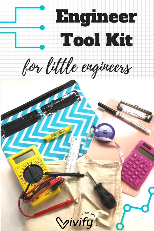 Even the littlest engineer needs the proper tools to truly problem solve like an engineer.