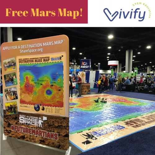 A bonus resource: check out this free Mars map for your school!