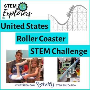United States Roller Coaster Stem Challenge Engineering Design Vivify Stem