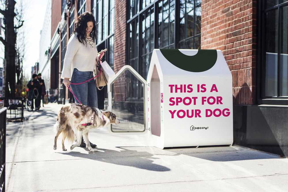 Introducing a revolutionary smart city amenity   - Make your entire property a dog-friendly destination.