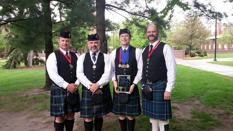 Left to Right: Jacob Schrader, Keith Murphy, Angus Martin, Chris Eller
