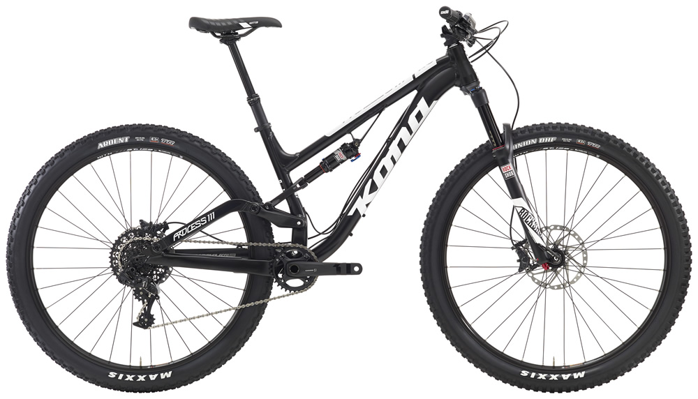 Process 111, $4099 (29'er) Designed to conquer a wide variety of terrain and riding styles, the Process 111 excels on everything from high alpine singletrack to aggressive technical descending. Short chainstays, a low-slung frame weight and long front center—key hallmarks of the Process platform—enable this 111 to be one of the most playful and capable dual-suspension mountain bikes ever made.