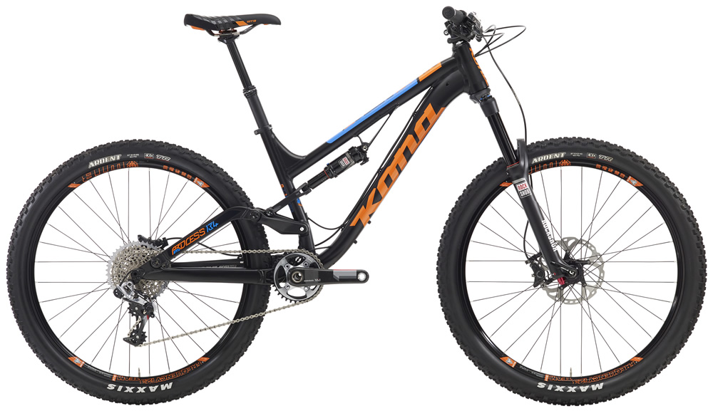 """Processs 134 Supreme, $5499(27.5"""" wheels) Everything you ever wanted in a trail bike. Ride across huge tracts of wilderness. Bomb your favorite backyard descent. Race enduro. Race XC stage races. Do it all with confidence, comfort and speed on the Process 134 Supreme. The most versatile model in our Process platform, outfitted with the best components. Let nothing stand in your way."""