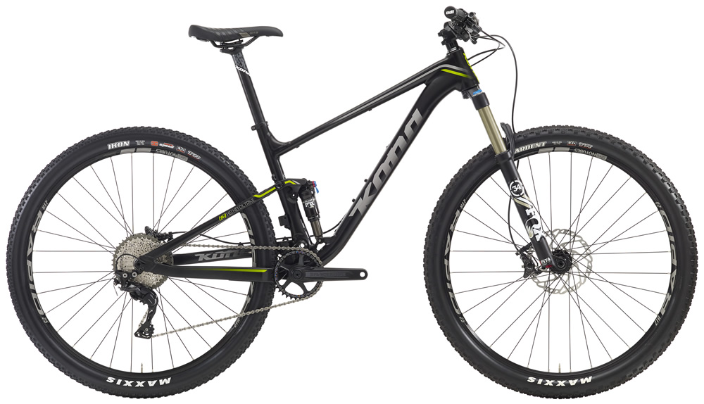 Hei Hei DL Trail, $3299(29'er) Featuring the same new frame as the Hei Hei Race models, one that's confident, fast, light and oh-so-fun, the Hei Hei DL Trail is specifically oriented towards committed cross-country riders who want a little more diversity out of their rig. With 120mm of front suspension and a component package that's more Trail than Race, this is a singletrack samurai
