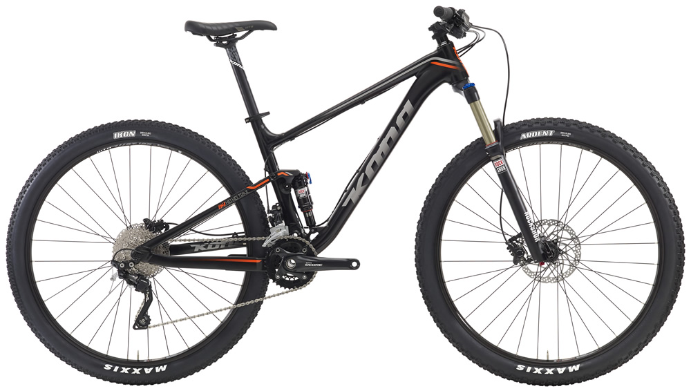 Hei Hei Trail, $2499(29'er) Featuring the same new frame as featured on the Hei Hei Race models, one that's confident, fast, light and oh so fun, the Hei Hei Trail is specifically oriented towards committed cross-country riders who want a little more diversity out of their rig. With 120mm of front suspension and a component package that's more Trail than Race, this is a singletrack samurai.