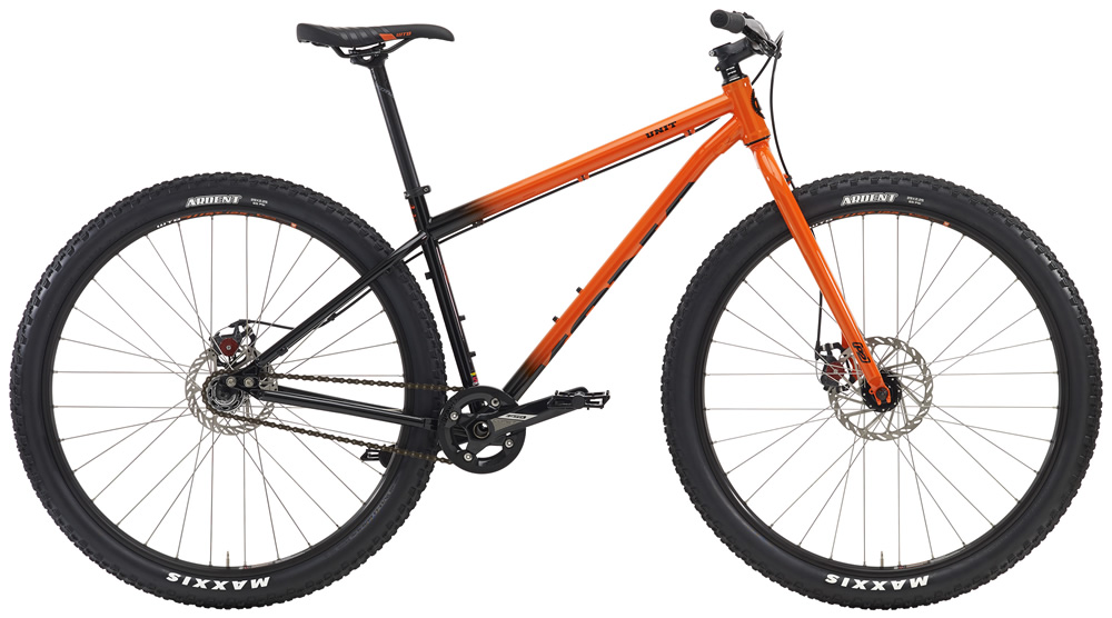"""Unit, $999(29'er) Fully rigid singlespeeders of the world unite: 29-inch wheels, a sweet cromoly frameset that takes trails of all types and fills them full with fun. Just like the Big Unit, the Unit frame pulls out all the stops, with alternate dropouts available fore a geared set up. All at a price that will make you go, """"Sweet Unit!"""""""