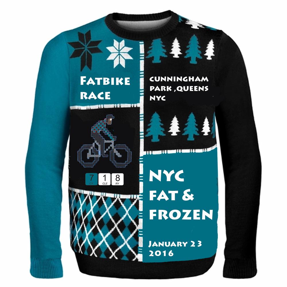NYC's 1st Fatbike Race 1/23/16
