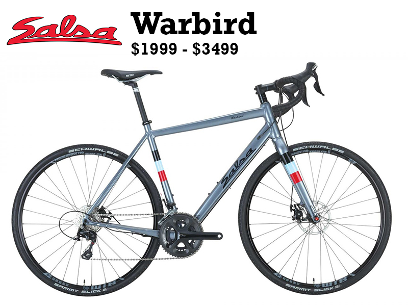 Warbird is our gravel race bike, built off years of experience racing in some of the nation's premier gravel events like the Almanzo 100, Dirty Kanza 200, and 340-mile Trans Iowa.