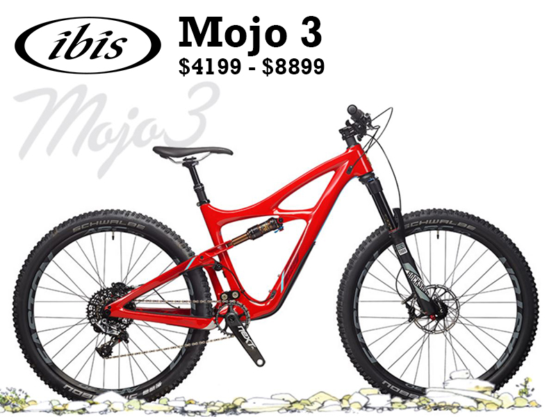 You could call it the baby brother to the Mojo HD3 or the successor to the Mojo SL/SL-R. Either way, it's a good thing, and maybe it's our most versatile trailbike ever.  You can run 2.3, 2.5 or 2.8 Plus tires on the Mojo 3, all with the same wheelset and without compromise. The Mojo 3 shares a lot of DNA with the HD3. Where the HD3 is big and burly, the Mojo 3 is light, taut and energetic. The latest generation of the dw-link gives the bike its amazing climbing and descending abilities.