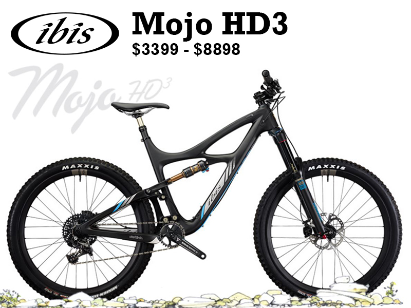 The Mojo HD3 was an instant classic when launched in November of 2014. It was our most popular bike in 2015. We are pleased to announce a major update to the Mojo HD3 as of March of 2016. The Mojo HD3 is now both Boost and Plus compatible.