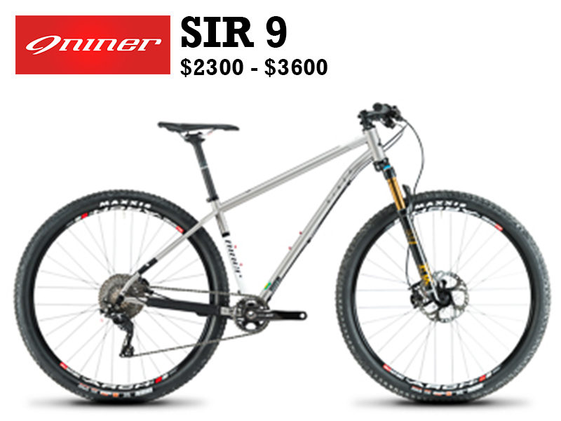 """At a time when carbon super bikes (including our own flagship models) dominate the stage, why would Niner shine a spotlight on the SIR 9? Perhaps it's better to ask """"just what is it about steel bikes?"""" Why, when we get on a steel frame, are we instantly transported back to that first bike we had as a kid? Why is steel just as relevant today as it was 50 years ago while other materials have come and gone?"""