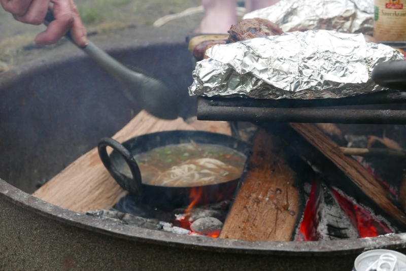 Campfire Ramen