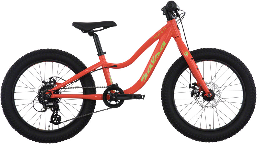 "Timberjack 20"":  The Timberjack 20 was designed for the next generation of off-road bicycle explorers. With a 6061-T6 heat-treated aluminum frame and modern-day componentry, this is not a ""miniature-looking version"" of the real thing. Timberjack 20 can go where mom and dad's mountain bikes go, because it's truly just like theirs."