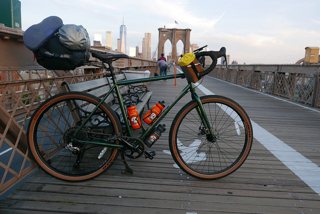 Traditional morning ride from 718 Cyclery to Lower Manhattan Meeting place