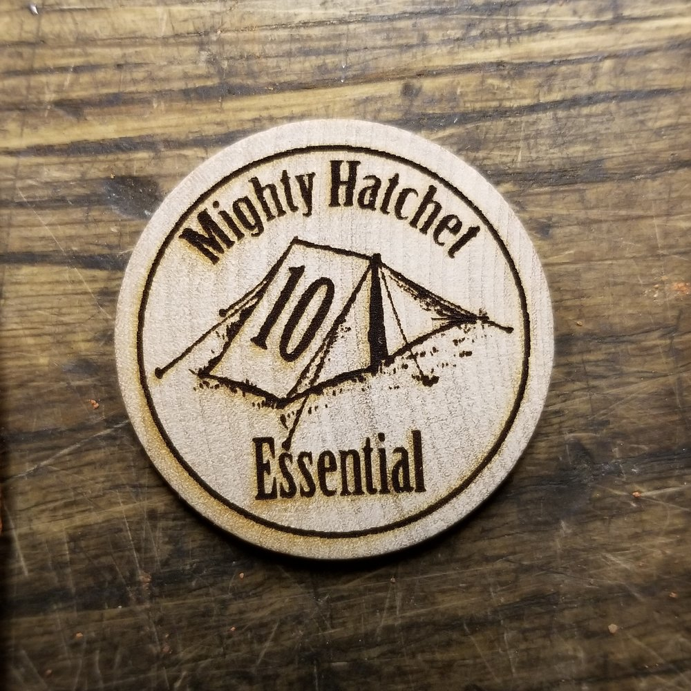 10 Essentials:  Attend this  Mighty Hatchet  class and get this TorbCoin worth  3 TC