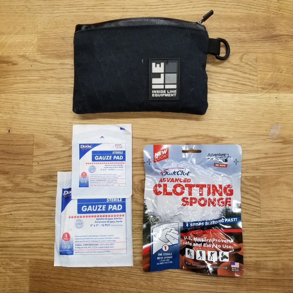 5 FIRST-AID SUPPLIES – First Aid Kit:  We will probably do an entire other post on the subject of First Aid kits. Needless to say, these are a critical part of ride safety.