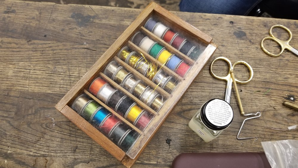 Tools of the (Fly Tying) trade