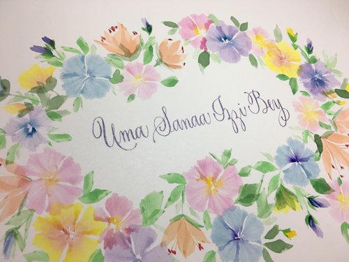 Gift for Baby Uma