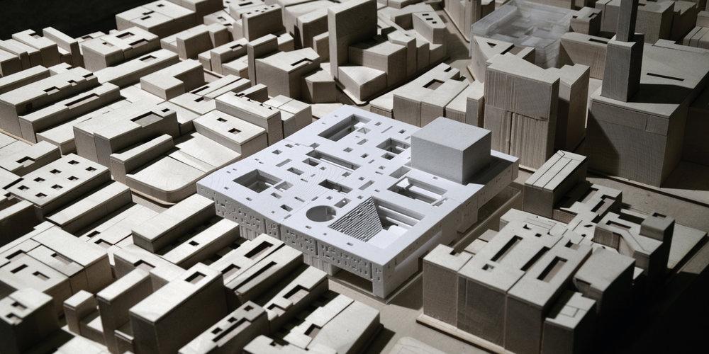 Neiheiser Argyros - Bazaar Urbanism - site model.jpg