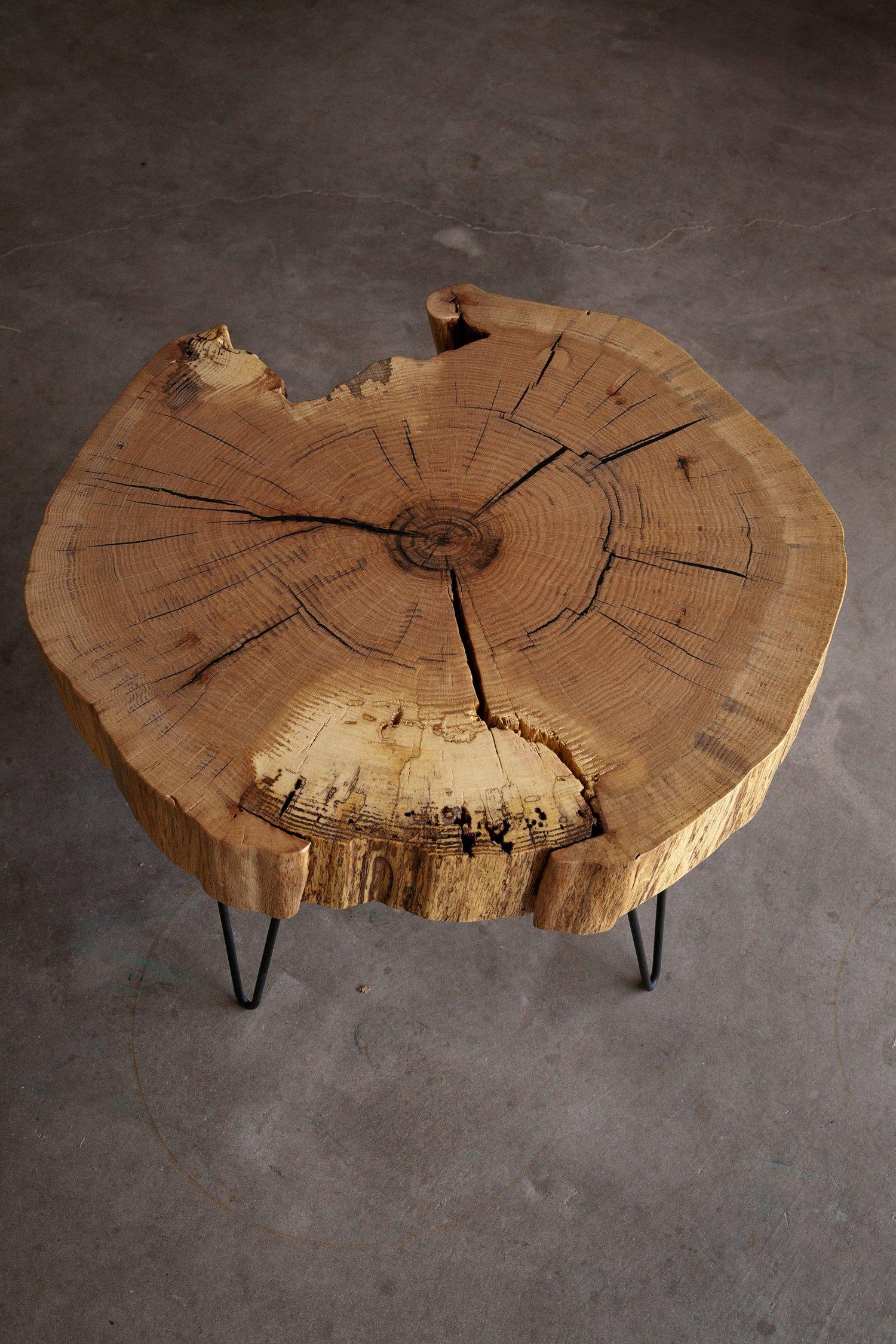 End Grain Coffee Table.End Grain Red Oak Coffee Table Hardwood Reclamation