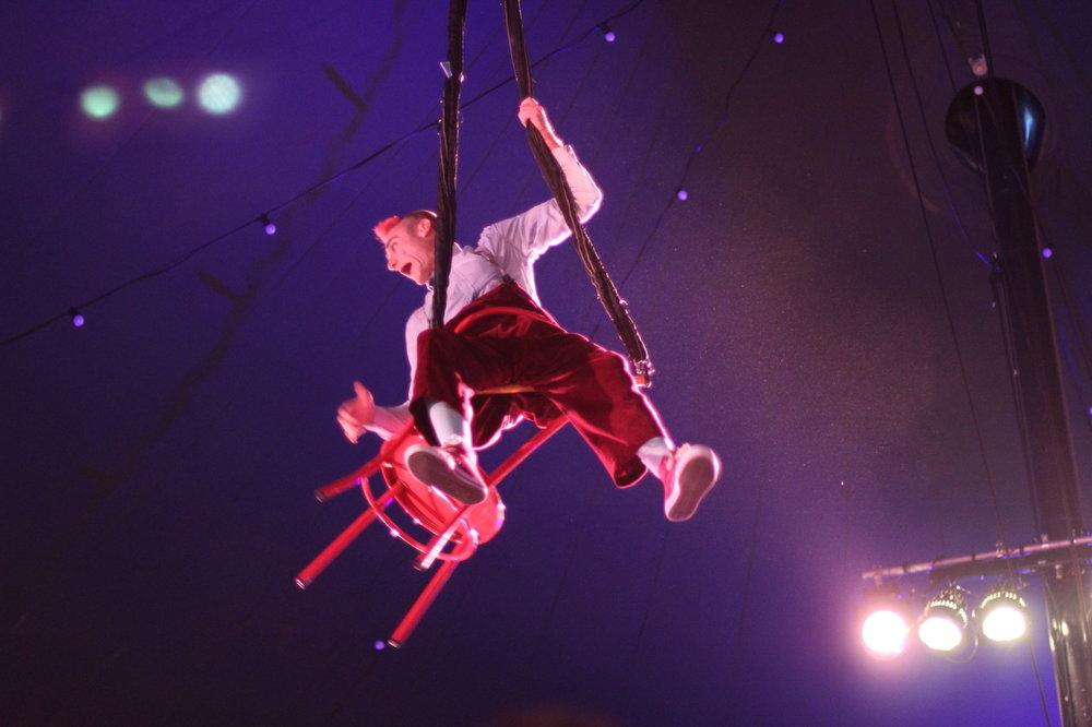 Tweedy in Giffords Circus 2018 (c) Gem Hall