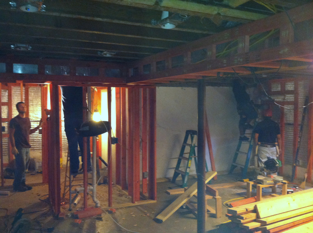 Framing Duct and Creating Back Rooms