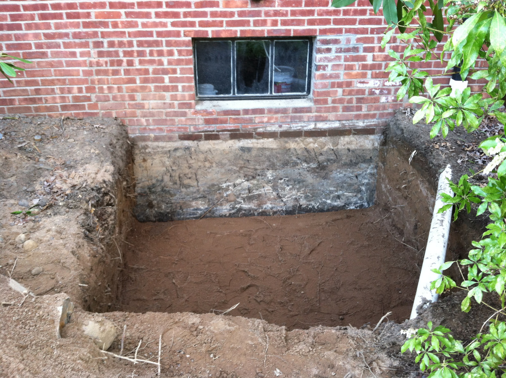 Original basement Window