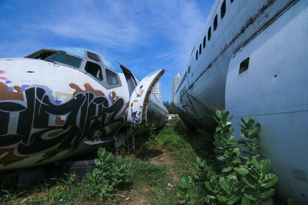 Bangkok's Airplane Graveyard