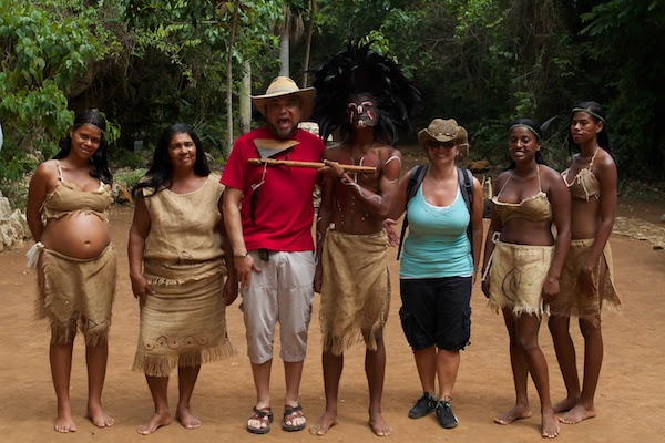 Wherein the native Dominican chief threatened to cut my head off if I didn't travel more. Image via Sheila Dee