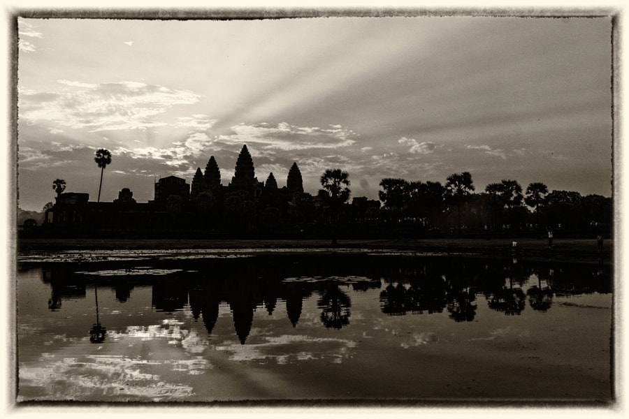 Reflections of Angkor Wat