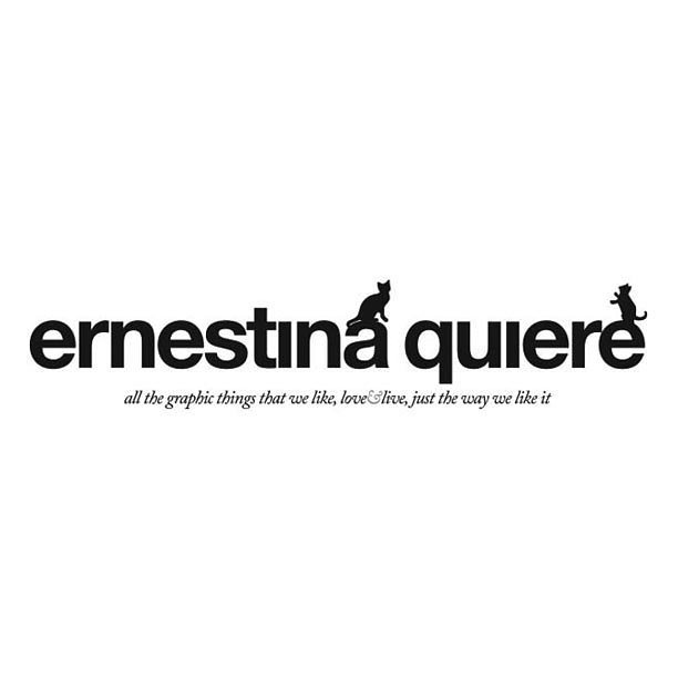 Ernestinaquiere.  #branding #design #logo #id #graphicdesign #naming #brandidentity