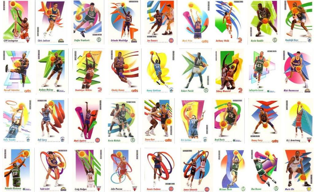 Skybox basketball cards