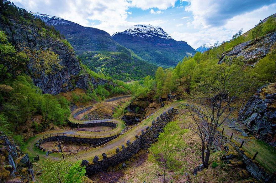 Ancient Road of Vindhellavegen