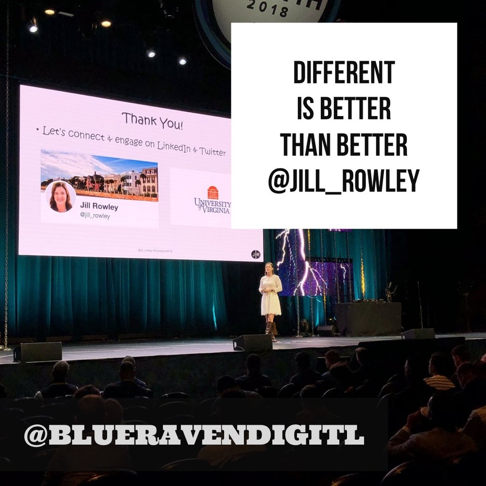 """#11 - """"Different is better than better"""" - Jill Rowley is another great example of fluidly stepping from challenge to challenge and collecting an incredible string of victories along the way 🙌And she encourages us all to reflect on what we're optimizing for. When is our focus on """"getting better"""" maladaptive or lazy?"""