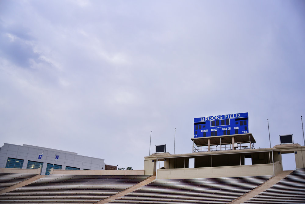 Family Photos at Wallace Wade Stadium