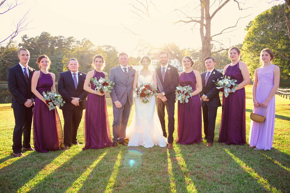 The Oaks at Salem Wedding