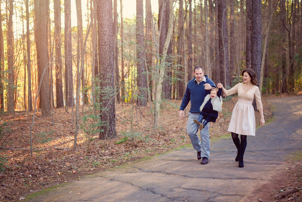 Family Photos at Jetton Park
