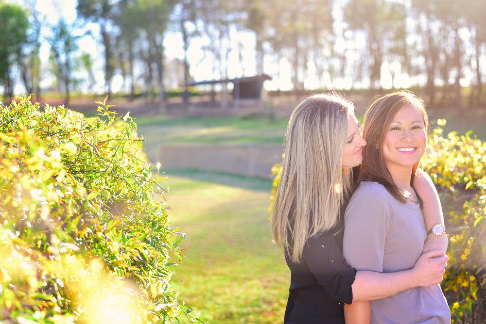 lesbian engagement photos