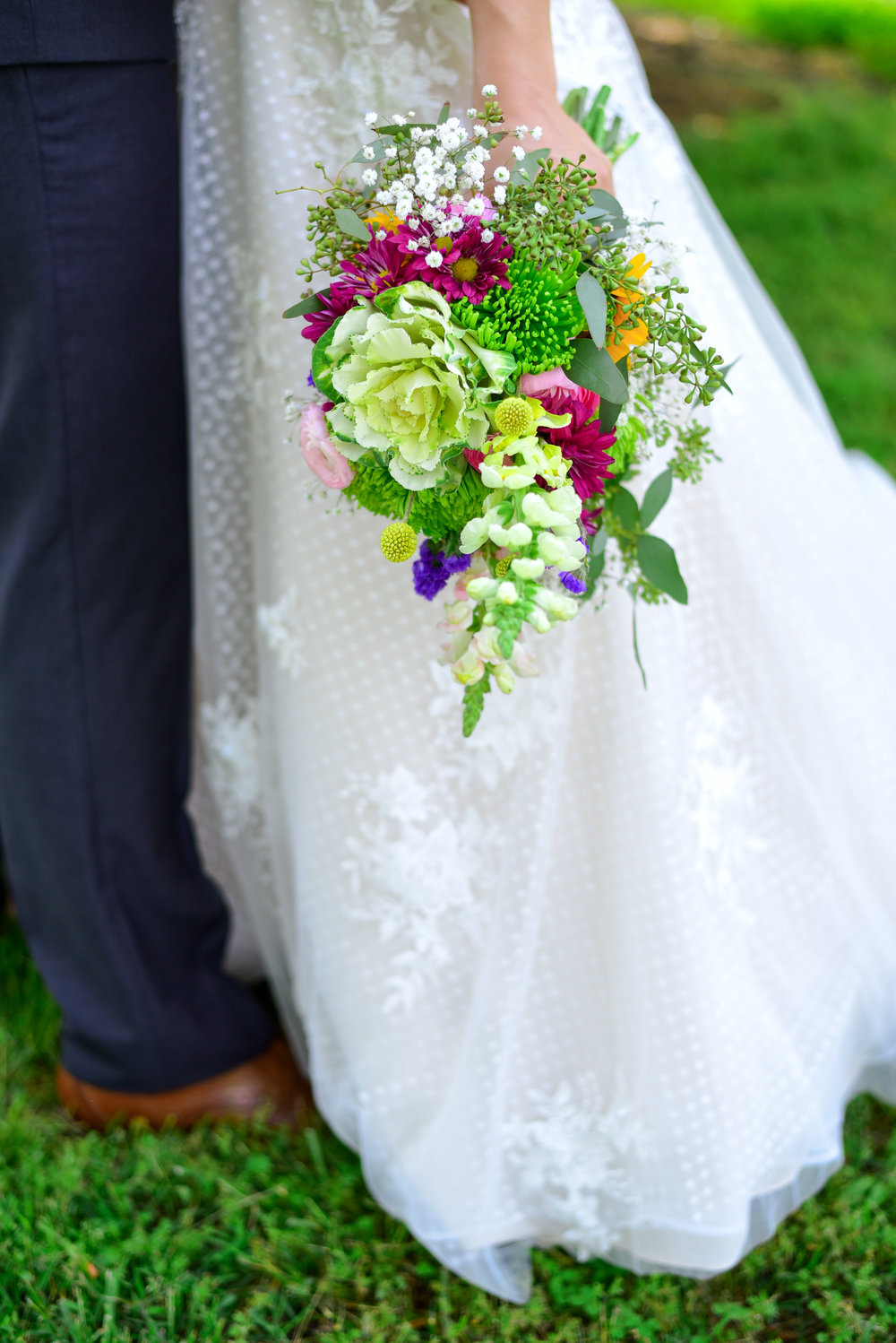 Highgrove Estate Bride and Groom
