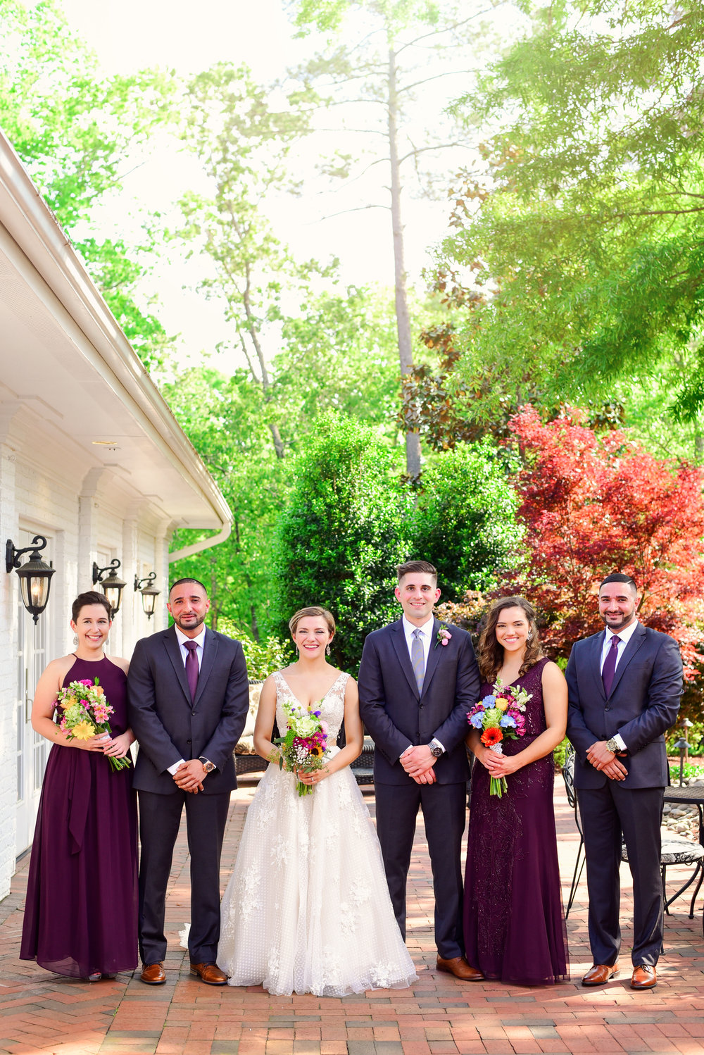 Highgrove Estate bridal party