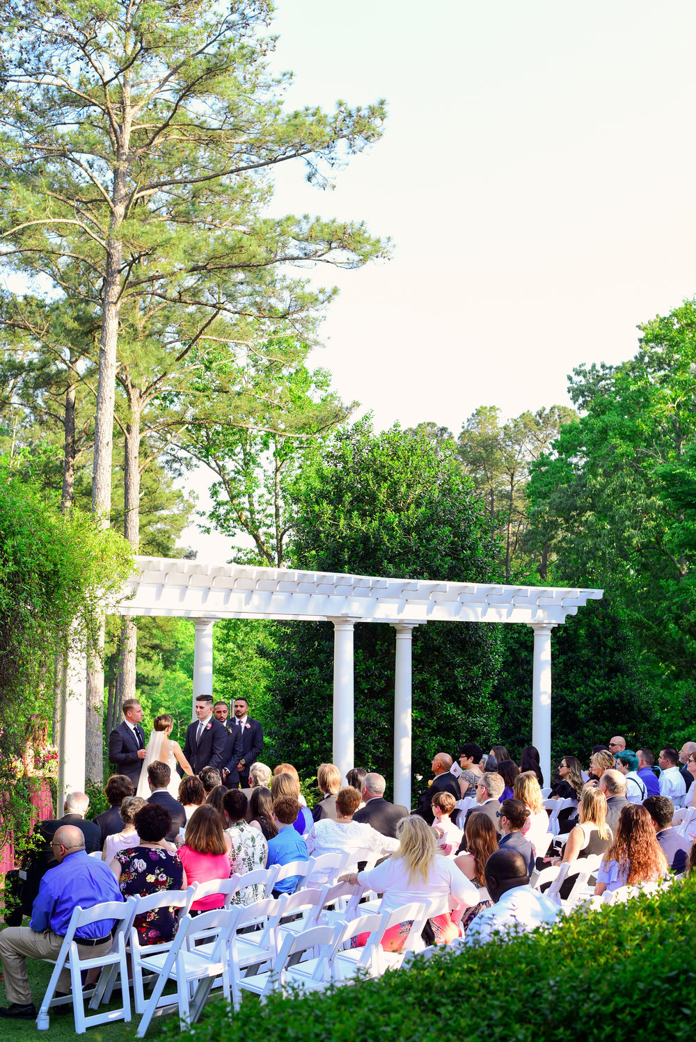 Highgrove Estate ceremony