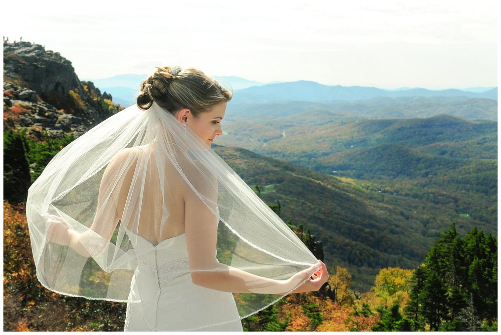 Grandfather Mountain Bridal Session