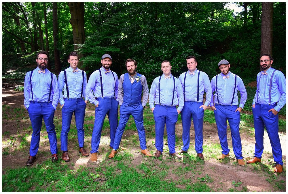 Raleigh Little Theatre Rose Garden Groomsmen