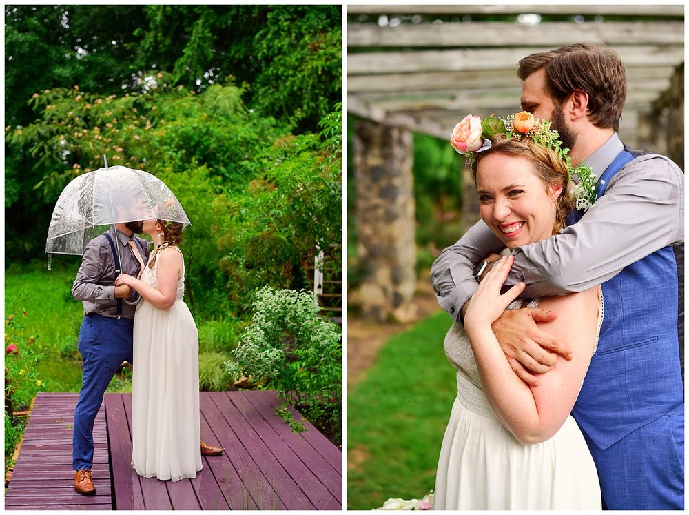 Raleigh Little Theatre Rose Garden Wedding
