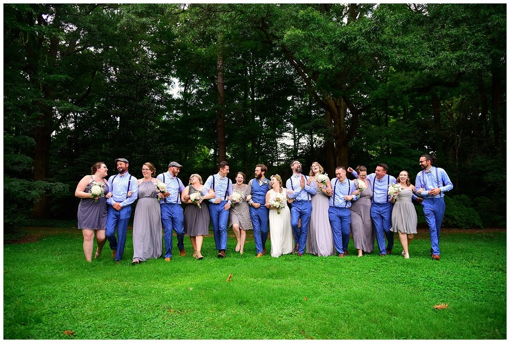 Rose Garden Bridal Party