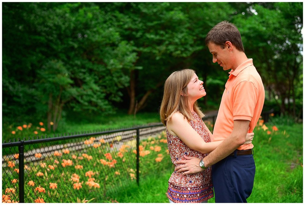 Engagement session Raleigh NC